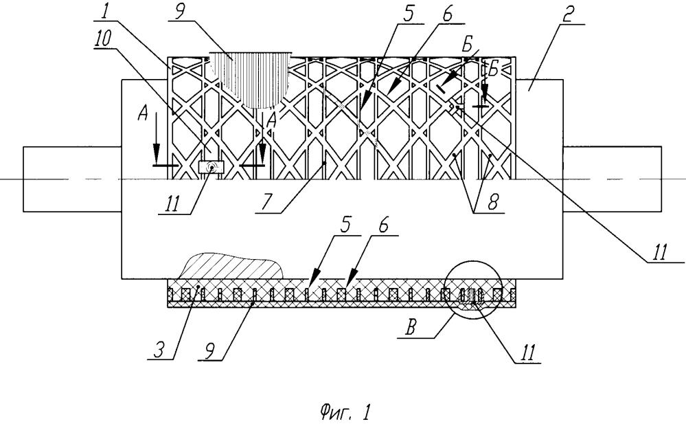Способ изготовления отсека летательного аппарата в виде оболочки вращения ячеистой структуры и отсек летательного аппарата в виде оболочки вращения ячеистой структуры