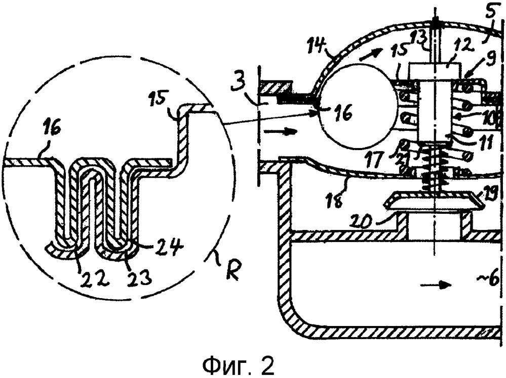 Устройство термостата и система охлаждения