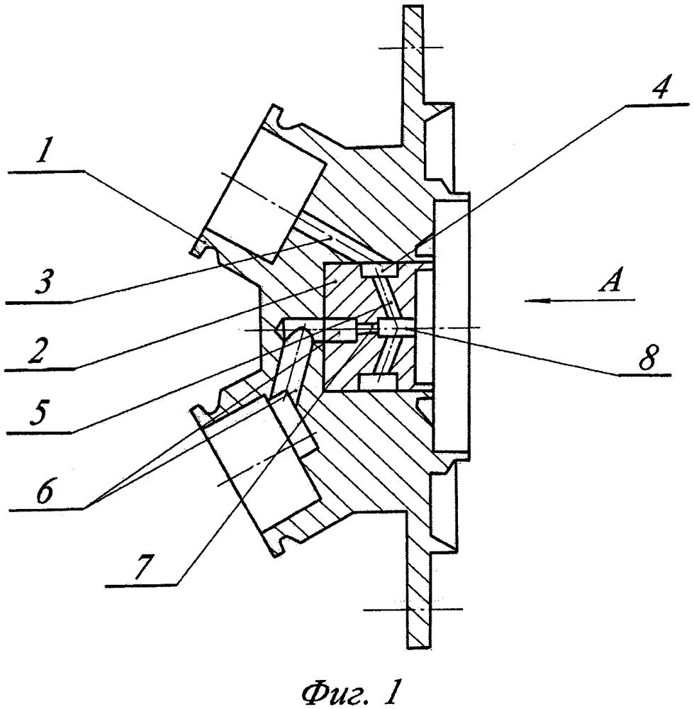 Смесительная головка жидкостного ракетного двигателя малой тяги