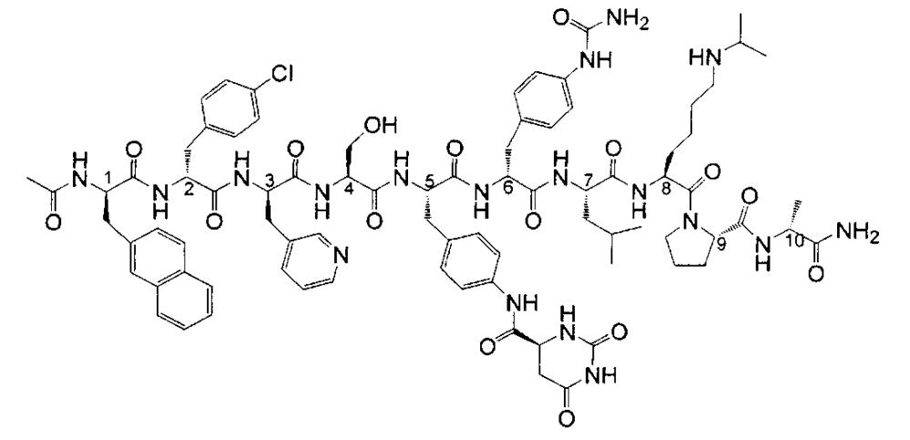 Способ производства дегареликса и его промежуточных соединений
