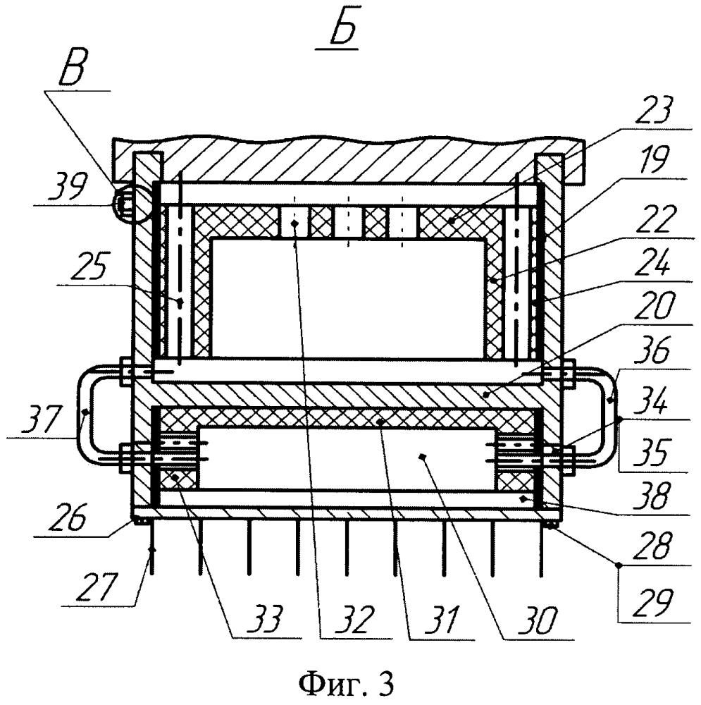 Система охлаждения типа тепловая труба узлов трения ленточно-колодочного тормоза
