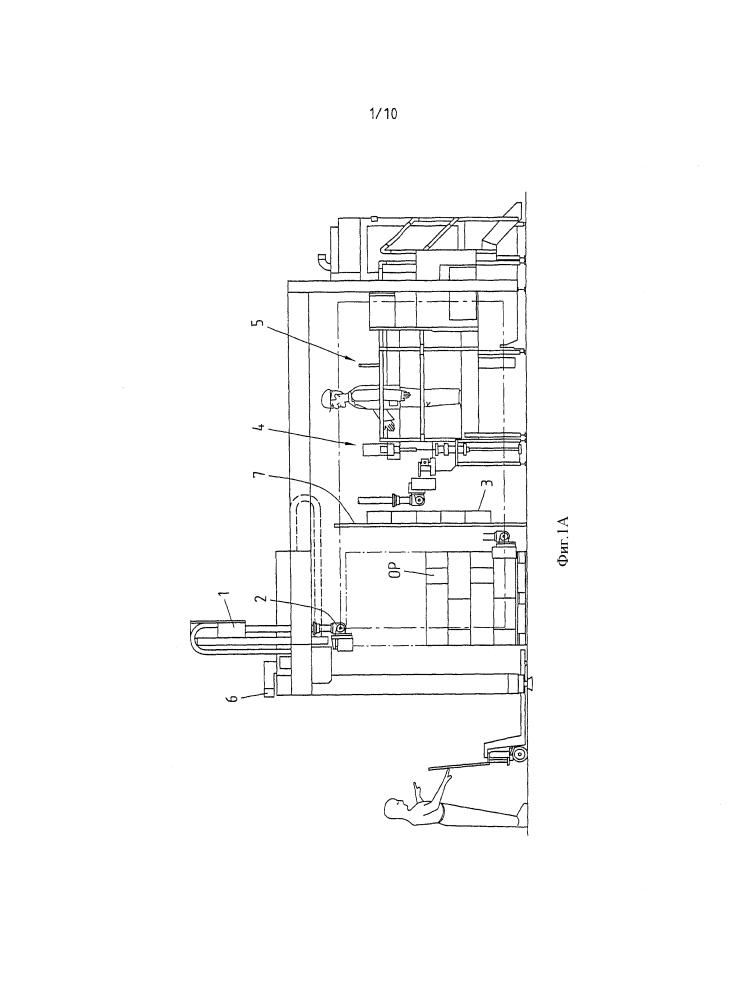 Устройство и способ распаковки и подачи горизонтально сложенных и вертикально стоящих упаковочных оболочек