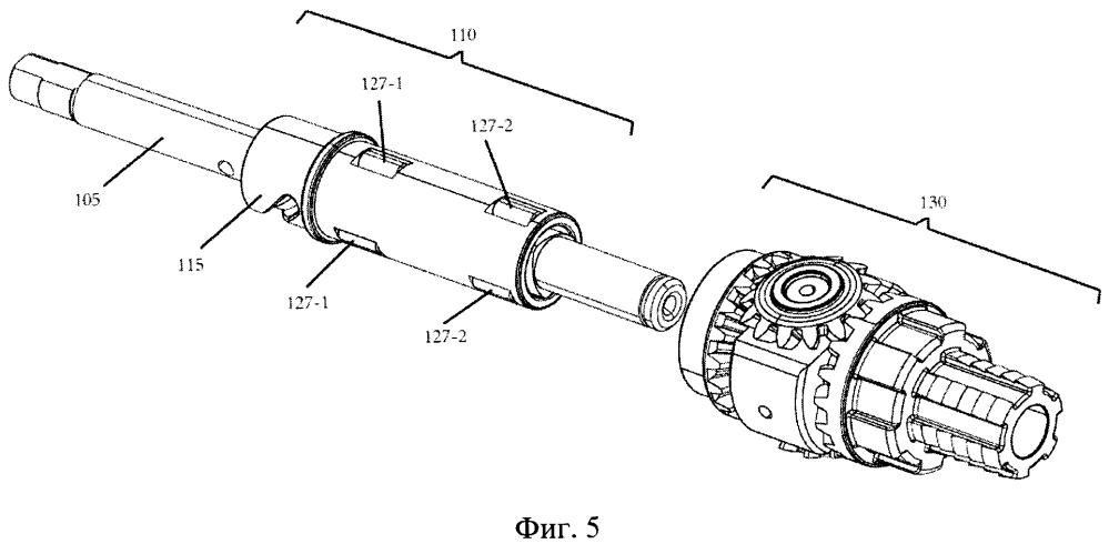 Блок двунаправленного механического преобразования