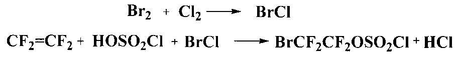 2-бромтетрафторэтилхлорсульфат в качестве полупродукта для синтеза этилбромдифторацетата, способ его получения и способ получения этилбромдифторацетата
