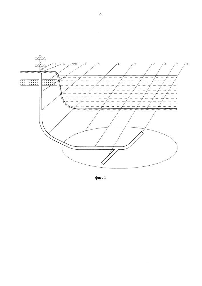 Способ сооружения береговой многозабойной газовой скважины для разработки шельфового месторождения
