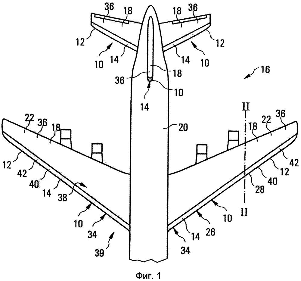 Устройство и способ устранения обледенения и/или предотвращения образования льда и профильное тело и летательный аппарат с таким устройством