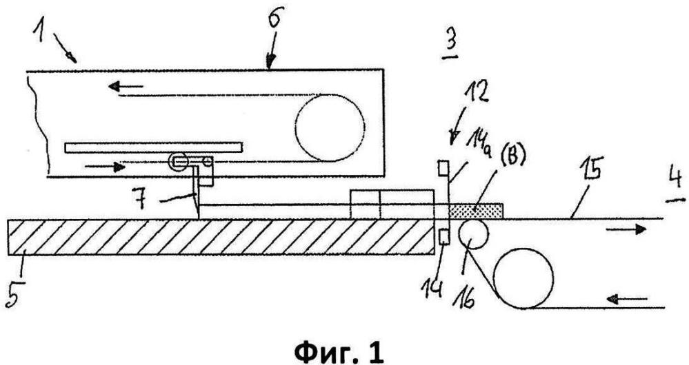 Система для изготовления конечных изделий разрезанием плоских блоков, в частности плоских и полых вафельных блоков