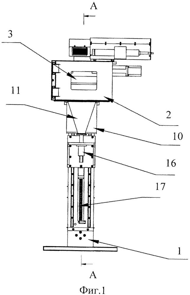 Устройство для изготовления объемных изделий