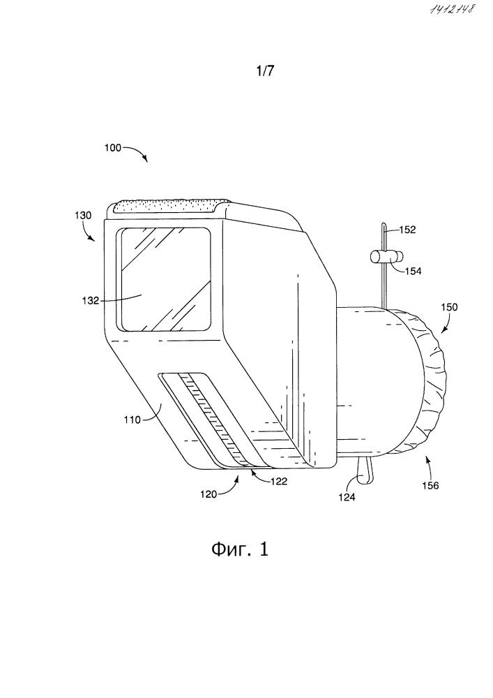 Изолирующее устройство для оптических приборов