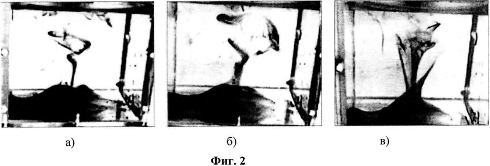 Способ визуализации ограниченных (замкнутых) нестационарных вихревых течений