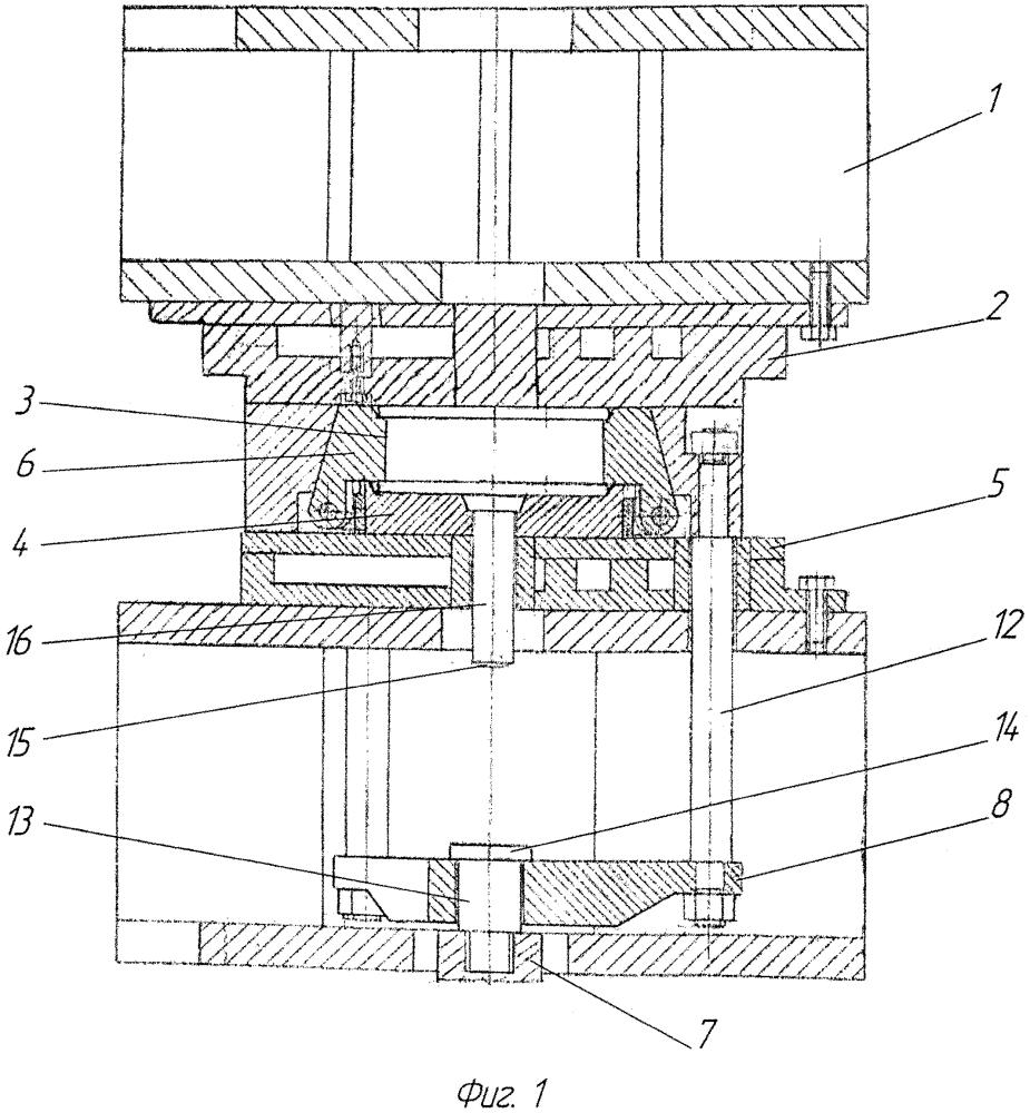 Устройство для изготовления двухпластинчатых амортизаторов