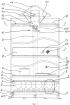 Способ сушки внутри неподвижной ёмкости с двумя днищами, установленной вертикально, высота которой больше, чем ширина основания