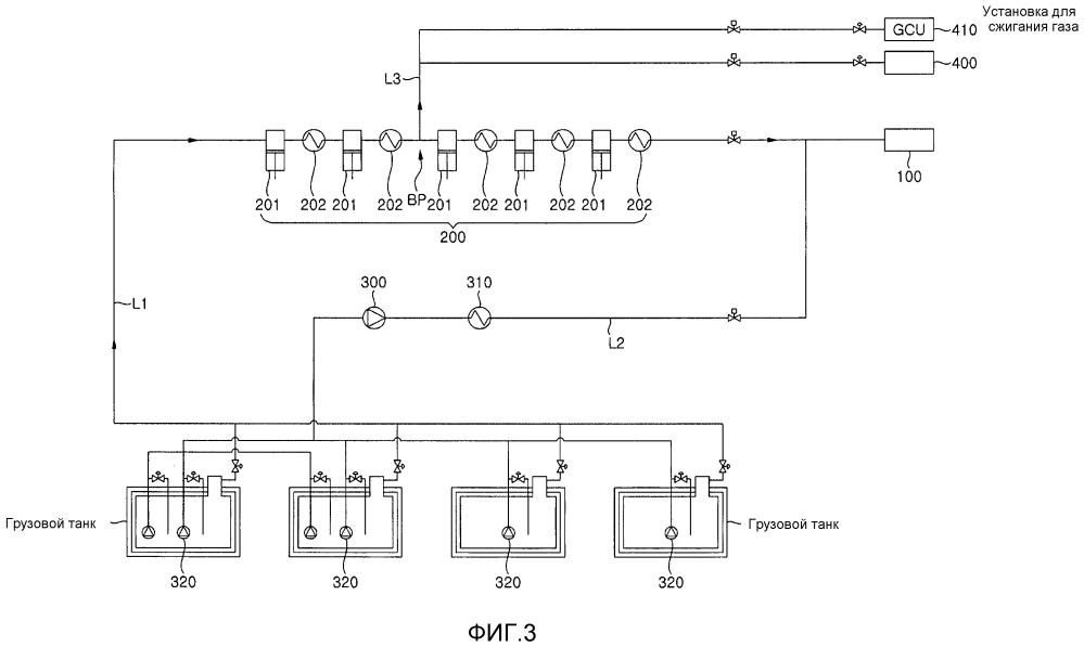 Система и способ подачи гибридного топлива для двигателя судна
