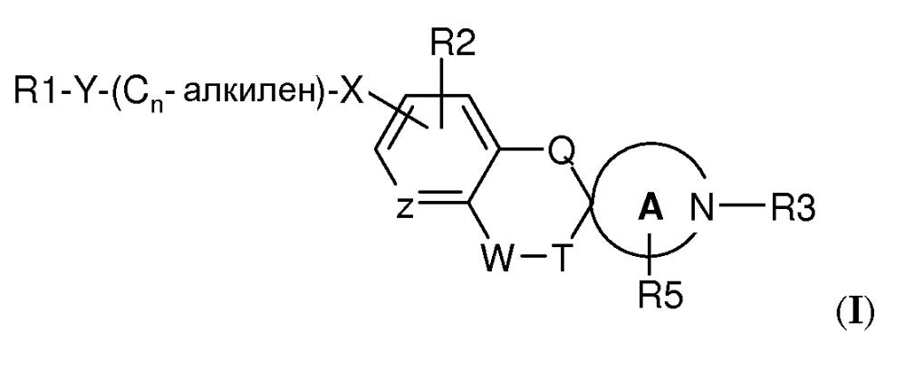 Спироциклические аминовые производные в качестве модуляторов s1p