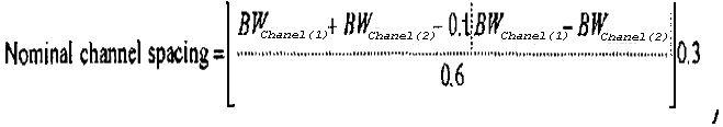 Определение интервала канала для агрегирования несущих