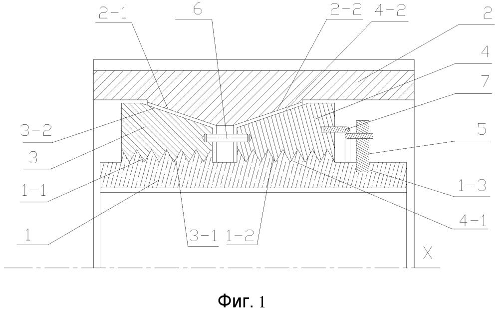 Фрикционная муфта свободного хода с коническими поверхностями