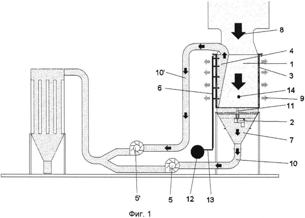 Цилиндрическая система фильтрации частиц