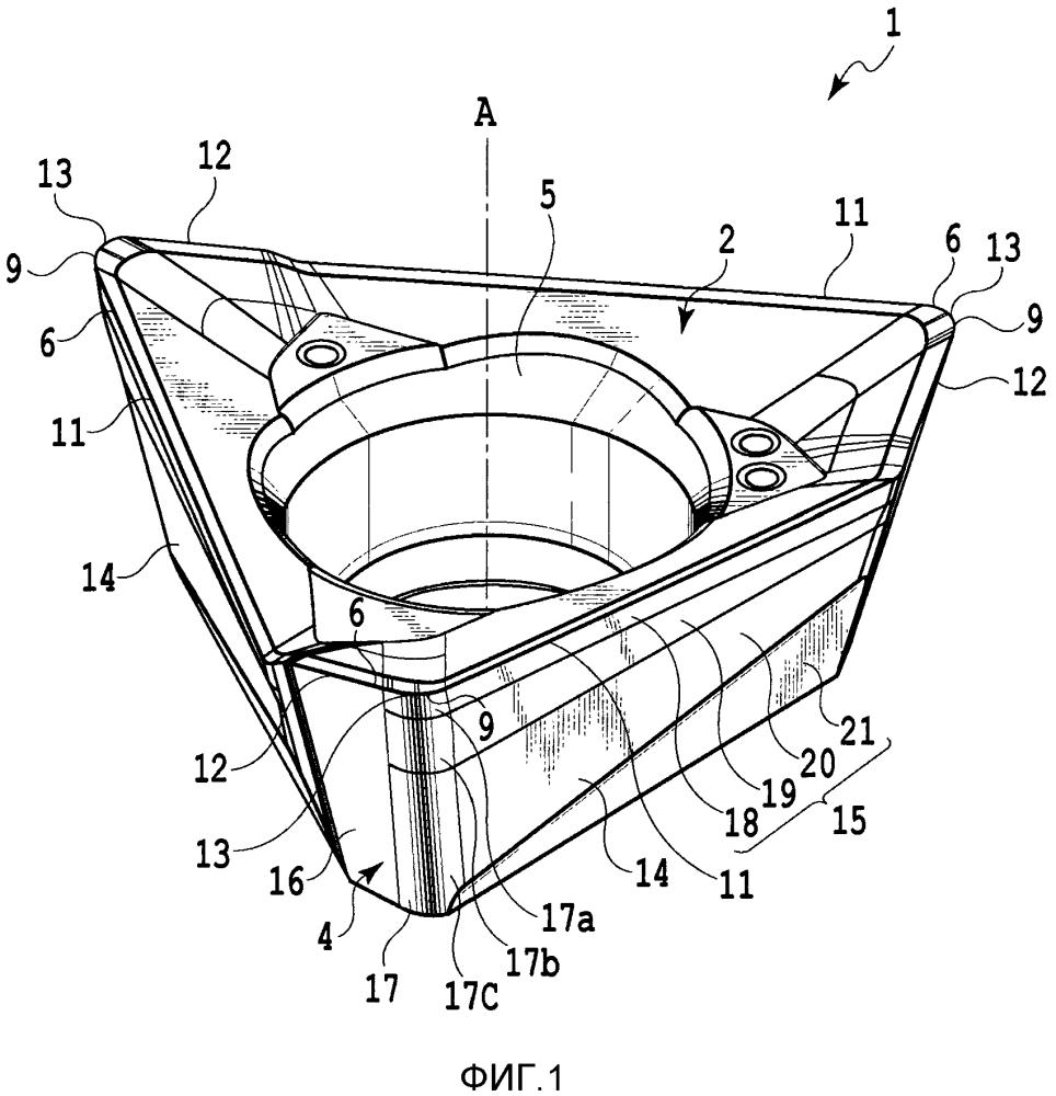 Режущая пластина и индексируемый вращающийся режущий инструмент