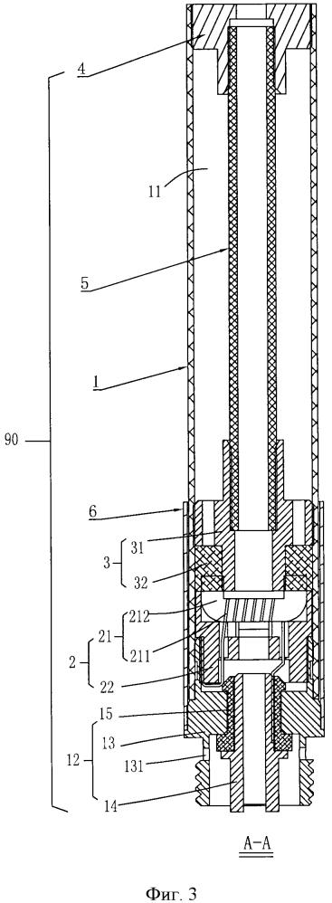Всасывающая насадка для электронной сигареты и электронная сигарета, в которой используется такая насадка