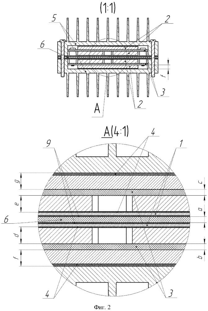 Способ компоновки электронного модуля, обеспечивающий улучшенные тепловые и габаритные размеры