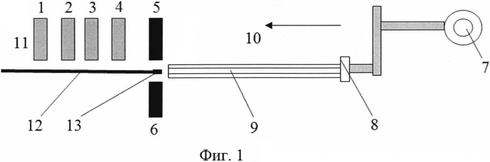 Установка для контроля характеристик топливного столба кольцевого тепловыделяющего элемента