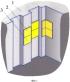 Накладное противоледное покрытие гидротехнического сооружения (варианты)