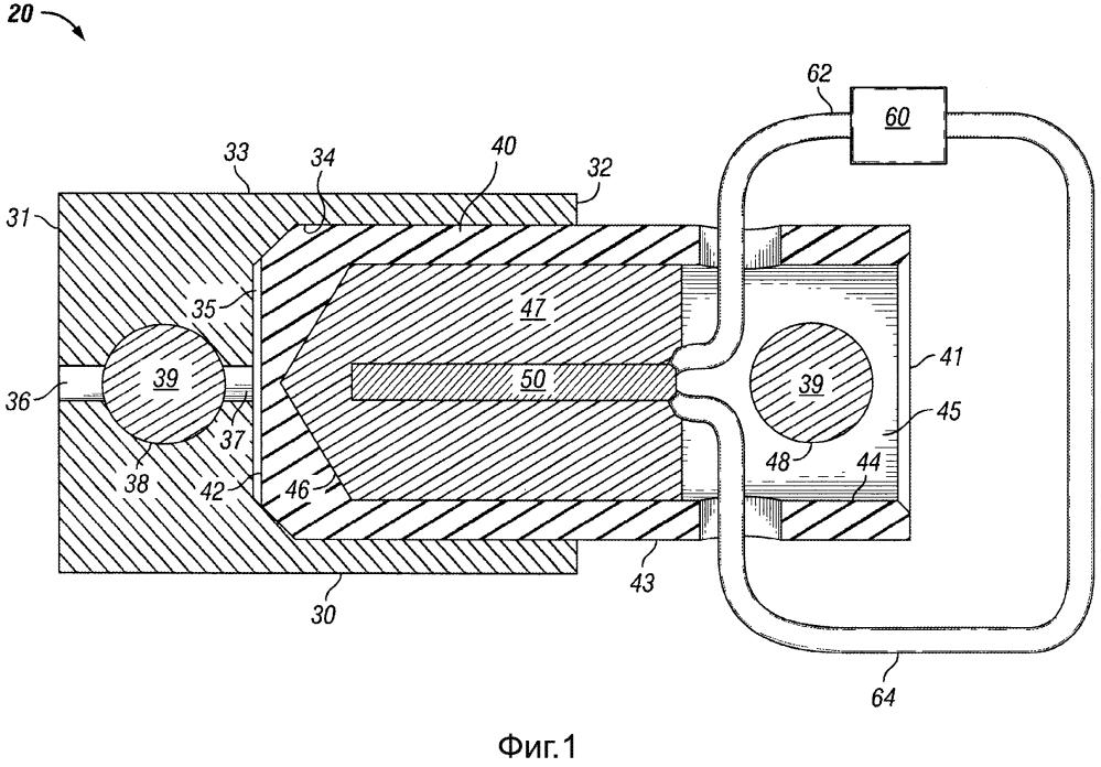 Термический разъединяющий механизм для скважинных инструментов