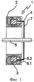 Магнитный тормоз с уменьшенным ступенчатым гистерезисом