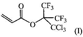 (перфтор-2-трихлорметилизопропил)акрилат и полимер на его основе