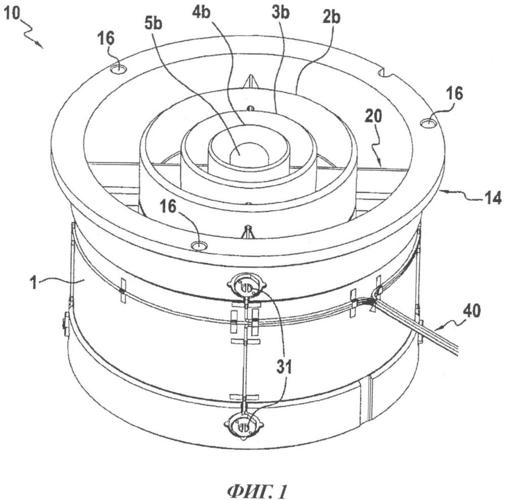 Многоэлектродный датчик для определения содержания газа в двухфазном потоке