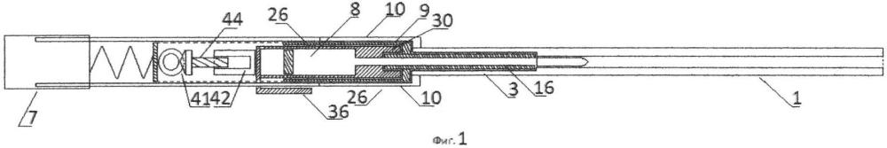 Беспатронное автоматическое оружие с каморой переменного объёма