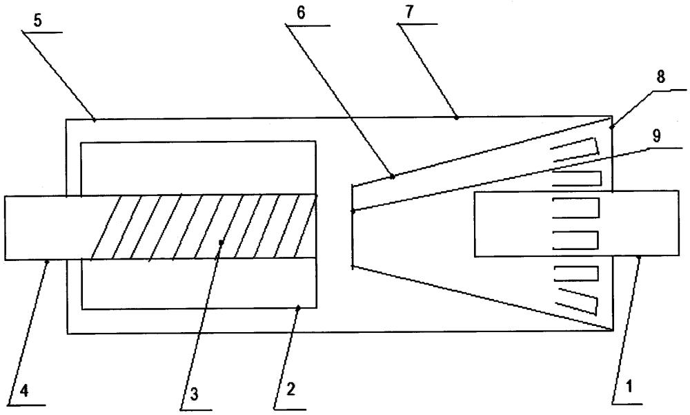 Способ снижения шума выхлопных газов в закрытом трубопроводе двигателей внутреннего сгорания и устройство для его осуществления