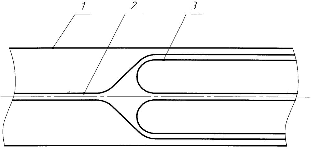 Способ нанесения покрытия на внутреннюю поверхность дюкера