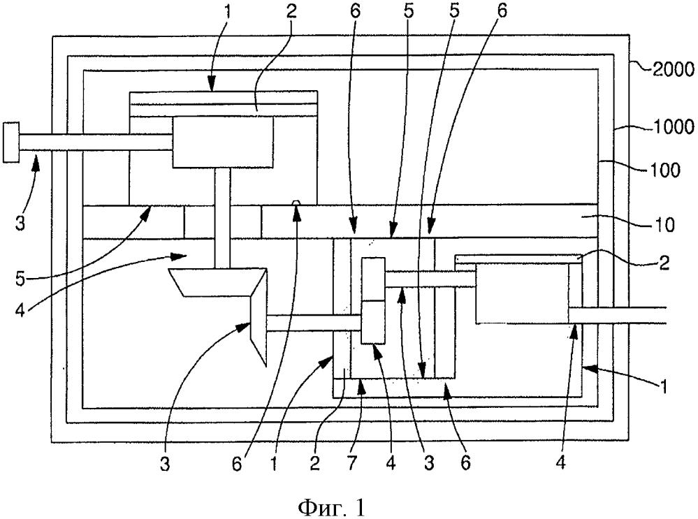 Модульный блок для механических часов с функциональными модулями