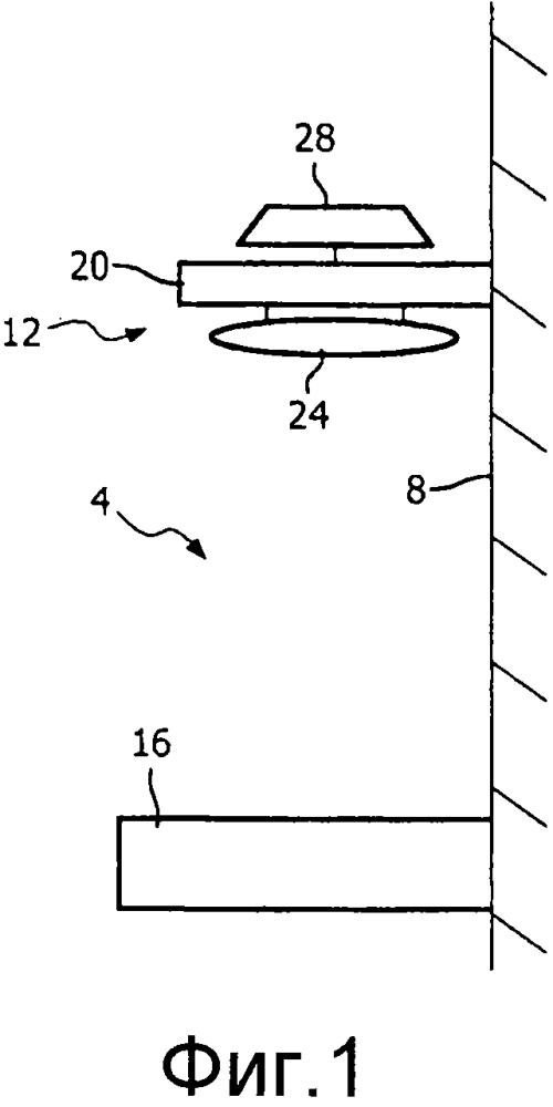 Устройство обогрева для младенца, использующее лучистый нагреватель и датчик температуры поверхности нагревателя