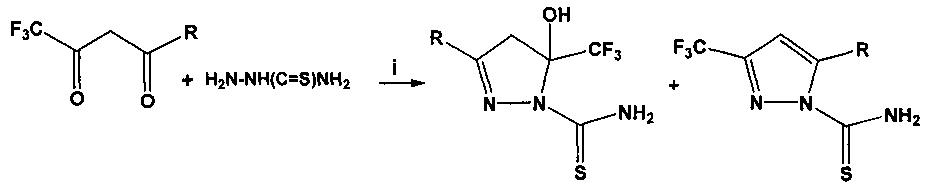 3-бутил-5-окси-5-перфтороктил-4,5-дигидро-1h-пиразол-1-карботиоамид в качестве стандартного образца состава для количественного определения фтора и серы в органических соединениях и способ его получения