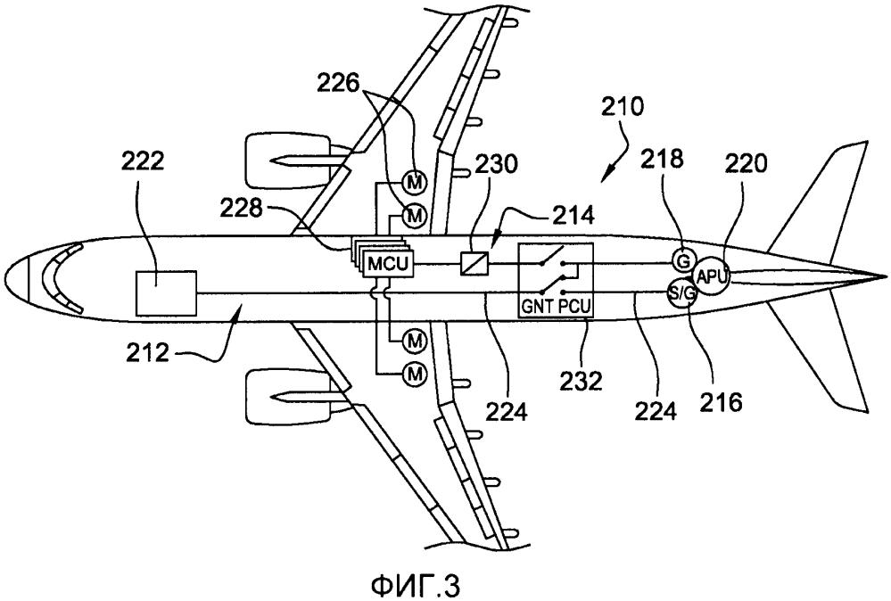 Устройство электрического питания летательного аппарата на земле