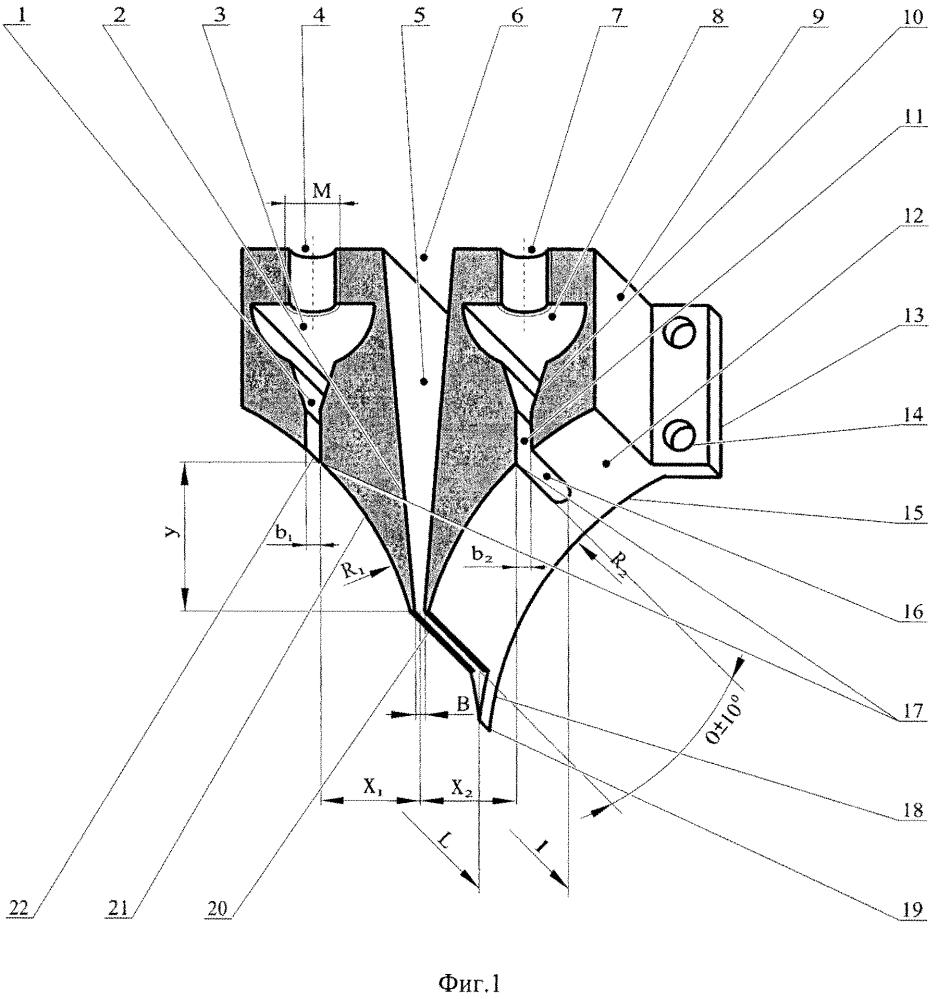 Способ изготовления продукта из тестовой оболочки с двумя несмешанными компонентами начинки и устройство для его осуществления