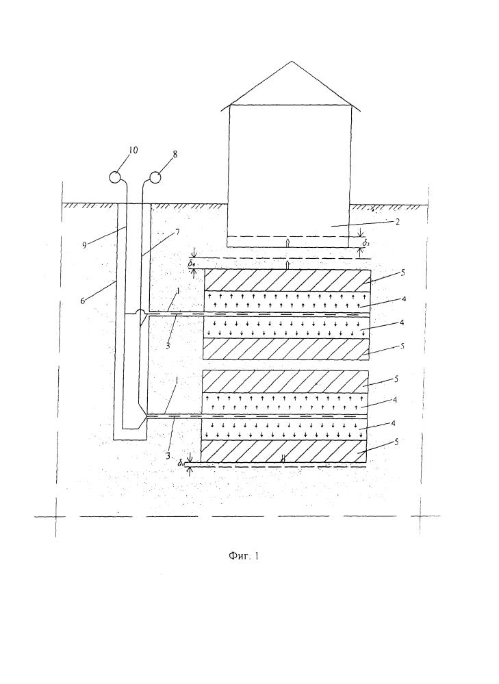 Способ устранения деформаций зданий и сооружений