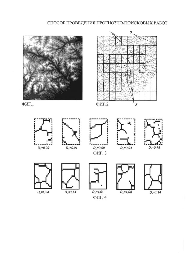Способ проведения прогнозно-поисковых работ месторождений полезных ископаемых на исследуемой площади