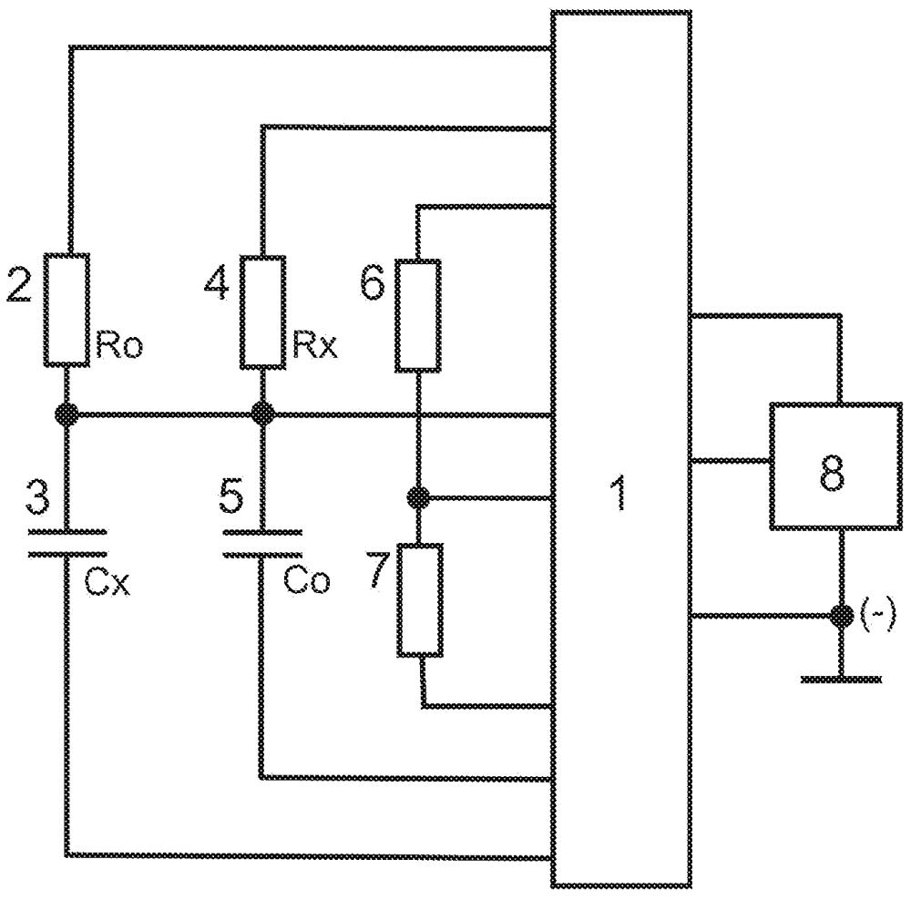 Микроконтроллерный измерительный преобразователь для резистивных и емкостных датчиков с передачей результата преобразования по радиоканалу