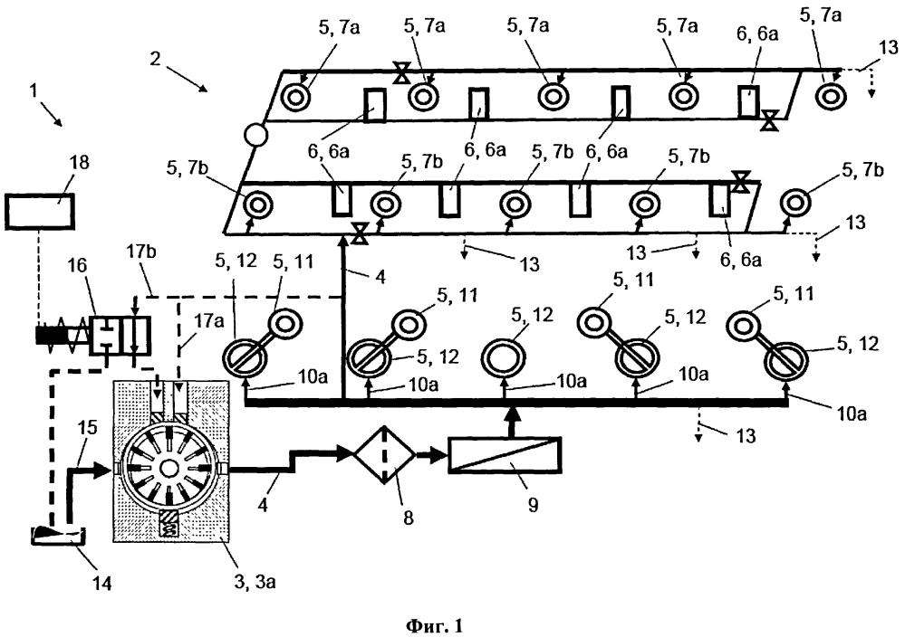 Двигатель внутреннего сгорания с масляным контуром и способ его эксплуатации