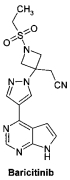 Дихлорацетат {3-[4-(7h-пирроло[2,3-d]пиримидин-4-ил)-пиразол-1-ил]-1-этилсульфонил-азетидин-3-ил}-ацетонитрила в качестве ингибитора янус киназ