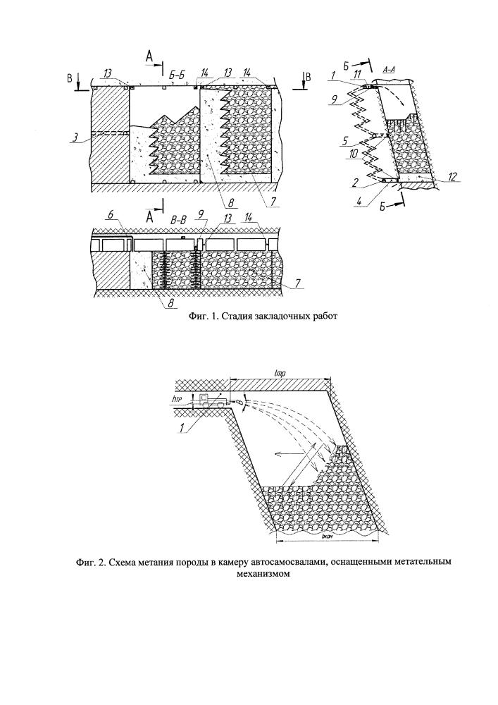 Способ закладки выработанного пространства