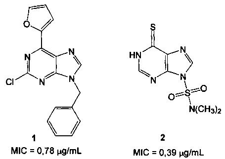 N-(2-аминопурин-6-ил)глицил-(s)-глутаминовая кислота, обладающая противотуберкулёзной активностью
