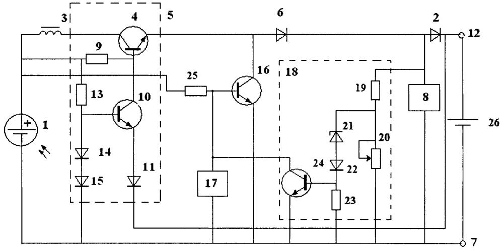 Устройство для компенсации саморазряда аккумуляторных батарей