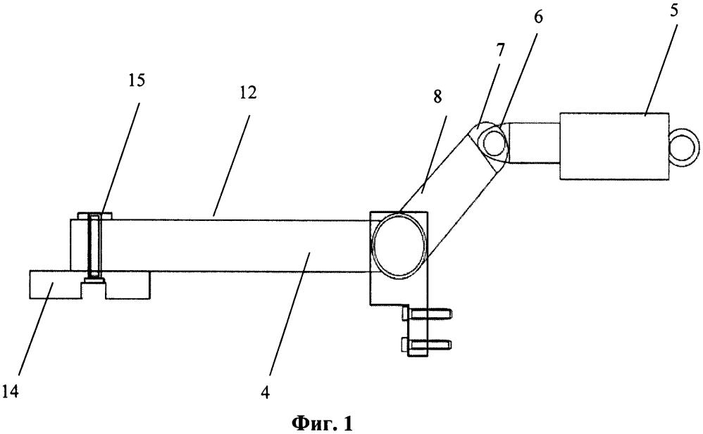Торсионно-рычажный корректор сцепного веса трактора раздельно-агрегатной компоновки