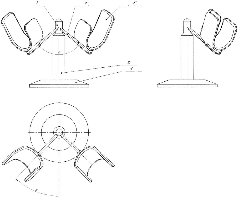Устройство для фиксации верхней конечности