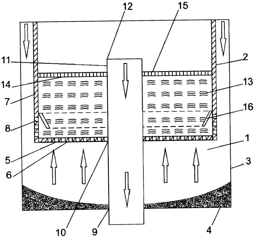 Фильтрующее устройство, устанавливаемое в дождеприемном колодце