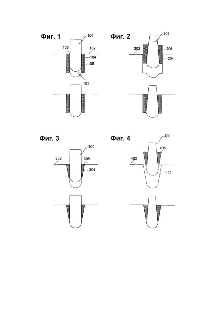 Дробильный валец, включающий твердые тела, внедренные в поверхность